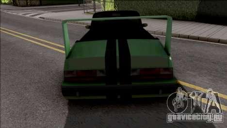 GTA IV Willard Cabrio Custom для GTA San Andreas