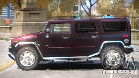 Hummer H2 V1 для GTA 4