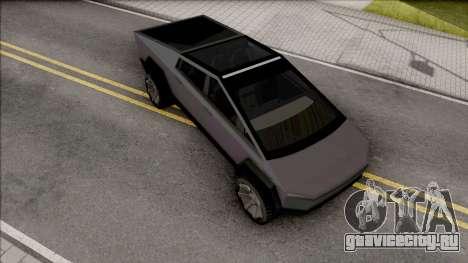 Tesla Cybertruck 2020 Low Poly для GTA San Andreas
