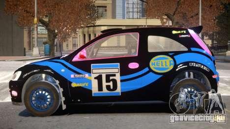 Opel Corsa V1 PJ для GTA 4
