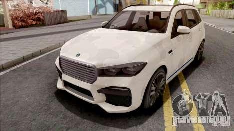 GTA V Ubermacht Rebla GTS Stock IVF для GTA San Andreas