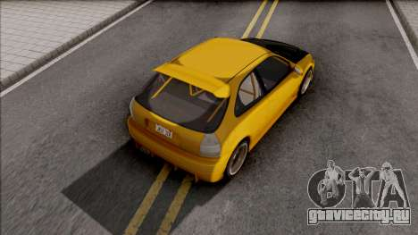 Honda Civic Hatchback Tuned для GTA San Andreas