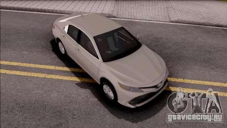 Toyota Camry 2019 Saudi Drift Edition для GTA San Andreas