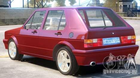 1998 Volkswagen Golf V1 для GTA 4
