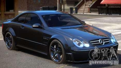 Mercedes CLK63 AMG V1 для GTA 4