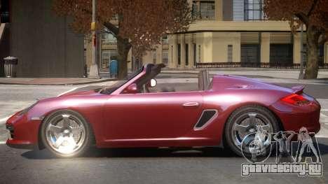 Porsche Boxster V1.0 для GTA 4