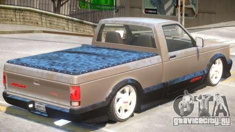 GMC Syclone V1 для GTA 4