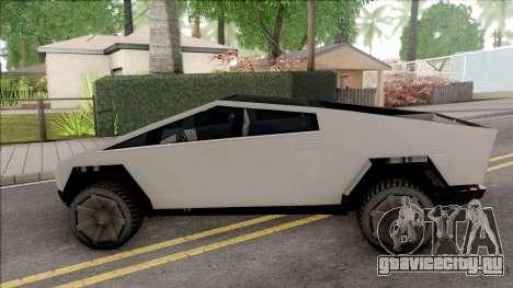Tesla Cybertruck 2019 для GTA San Andreas