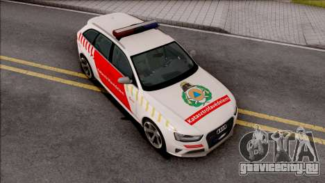 Audi RS4 Avant Hungarian Fire Department для GTA San Andreas