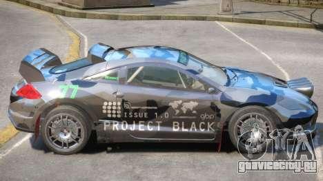Mitsubishi Eclipse Rally PJ4 для GTA 4