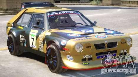 Lancia Delta Rally V1 PJ для GTA 4