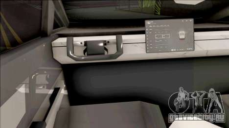 Tesla Cybertruck v1.2 для GTA San Andreas