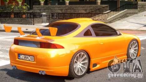 Mitsubishi Eclipse V1.0 для GTA 4