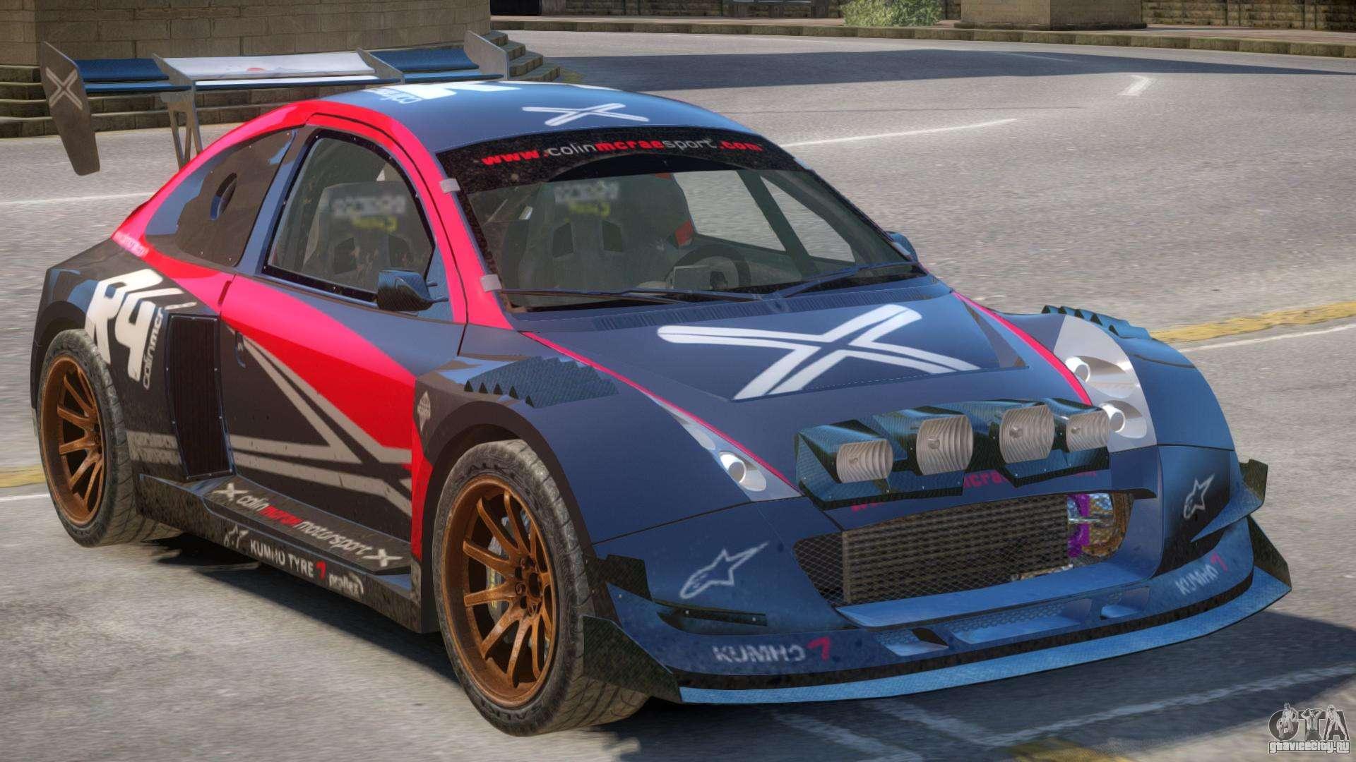 Colin McRae Drift V1 PJ1 для GTA 4