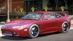 Mitsubishi Eclipse Stock для GTA 4