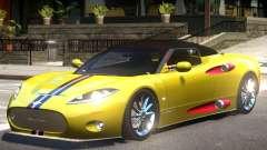 Spyker C8 V1.1 PJ1 для GTA 4