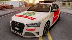 Audi RS4 Avant Hungarian Fire Department для GTA San Andreas