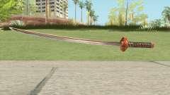 Orange Katana для GTA San Andreas