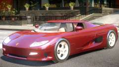 Koenigsegg CC8S V1 для GTA 4