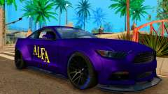 Ford Mustang GT Liberty Walk 2015 Purple для GTA San Andreas