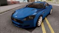 Aston Martin DB9 Full Tunable VehFuncs для GTA San Andreas