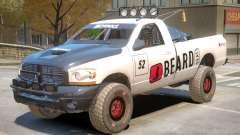 Dodge Power Wagon PJ1 для GTA 4