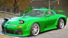 Mazda RX7 V1 PJ1 для GTA 4