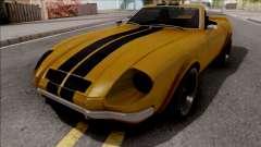 FlatOut Lancea Cabrio v2 для GTA San Andreas