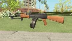 AK47 With Drum Magazine для GTA San Andreas