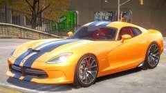 Dodge Viper V1.2 для GTA 4