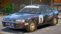 Subaru Impreza Rally Edition V1 PJ3 для GTA 4