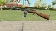 PPSH-41 Submachine Gun (WW2) для GTA San Andreas