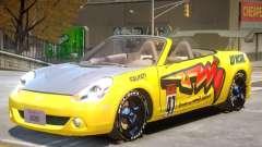Toyota MRS2 V1 PJ2 для GTA 4