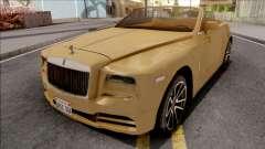 Rolls-Royce Dawn 2019 для GTA San Andreas