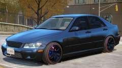Lexus IS300 Stock для GTA 4