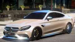 Mercedes Benz C63 V1.2 для GTA 4