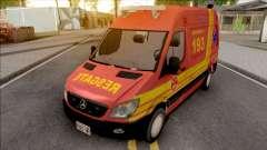 Mercedes-Benz Sprinter 2013 Ambulancia v2 для GTA San Andreas
