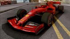 Ferrari SF90 F1 2019 Low Poly для GTA San Andreas