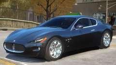 Maserati Gran Turismo S V1 для GTA 4