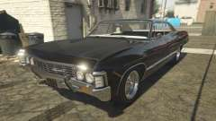 Chevrolet Impala 1967 Supernatural для GTA 5
