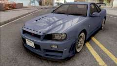 Nissan Skyline GT-R R34 2000 Omori Factory S1 v2
