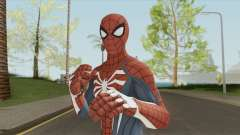 Spider-Man (PS4) Advanced Suit для GTA San Andreas