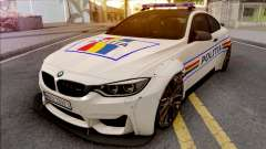 BMW M4 2018 Widebody Politia Romana