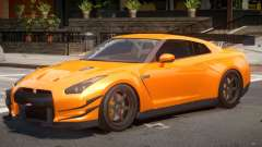 Nissan GT-R V1.0 для GTA 4