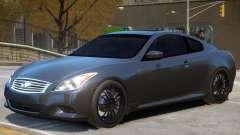 Infiniti G37 Coupe V1 для GTA 4
