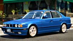 BMW 540i V1.0 для GTA 4