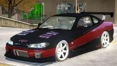 Nissan Silvia S15 V1.0 PJ для GTA 4