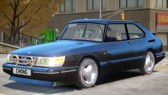 Saab 900 Turbo V1 для GTA 4