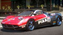 Pagani Huayra V1.1 PJ2 для GTA 4