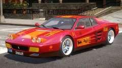 Ferrari 512 V1.1 для GTA 4